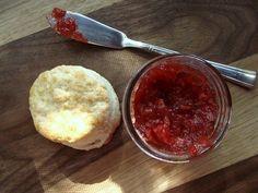 strawberry preserves made with pomona's pectin