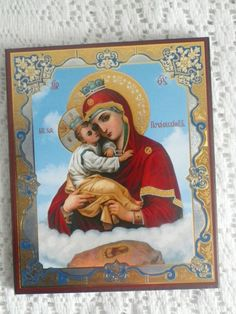 Ikon  Jomfru Maria og Jesusbarnet
