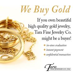 While not every item is the right fit, we are happy to consider all buying opportunities. Remember the most you would have invested is a little of your time to show us your beautiful Gold Jewelry Collection! Bridal Jewelry, Gold Jewelry, Fine Jewelry, Jewelry Companies, Jewelry Stores, Gold Cross, Diamond Pendant, Gold Watch, Diamond Engagement Rings