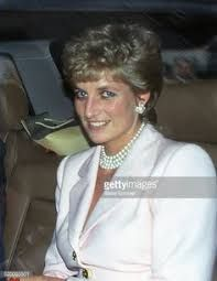 Diana, Princess of Wales - arrives at the Hearst luncheon, New York, New York, January Princess Diana Photos, Princess Diana Fashion, Princess Of Wales, Real Princess, Princesa Diana, Camilla Parker Bowles, Charles And Diana, Prince Charles, Lady Diana Spencer