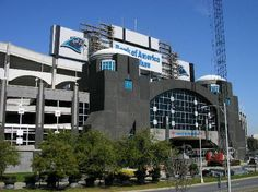 Bank of America Stadium, home of The CAROLINA PANTHERS  Aug 2008  Charlotte