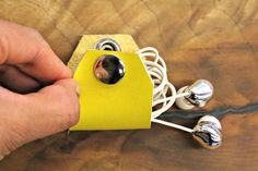 Earbud Case | 23 Easy DIY Ways To Make Traveling So Much Better