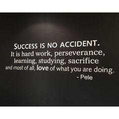 Hard work, sacrifice and love ♡ #MotivationalPage