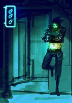 #cyberpunk #art #graphic #future #cyberpunk #art #graphic #future  Axel Torvenius