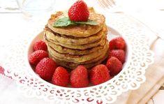 Banános palacsinta - DESSZERT SZOBA Pancakes, Fitt, Healthy, Breakfast, Smoothie, Mint, Morning Coffee, Pancake, Smoothies