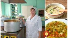 9 receptov na najlepšie polievky zo škôlky, priamo od pani kuchárky: Veľmi rýchle a také chutné, že ich deti pýtajú aj doma! Tiramisu, Soup, Invite, Red Peppers, Soups, Tiramisu Cake