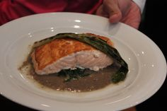 Filet of Atlantic Salmon on Norwegian Sky http://www.premiercustomtravel.com/cruises/norwegian.html #Cruising #Travel #Food #Sky #Norwegian