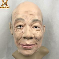 Molezu Halloween Realistic Latex Human Mask Funny Full Face Male Masks For Hall | eBay Realistic Halloween Masks, Full Face, Insulation, Latex, Funny, Ebay, Thermal Insulation, Funny Parenting, Entertaining
