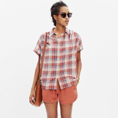 Pin for Later: 12 Prints Every Woman Should Have in Her Wardrobe Plaid