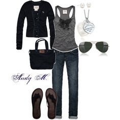"""""""Casual outing"""" by andym8 on Polyvore"""