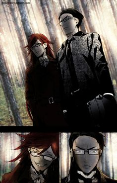 Kuroshitsuji/ Black Butler- Shinigami- Grell and William