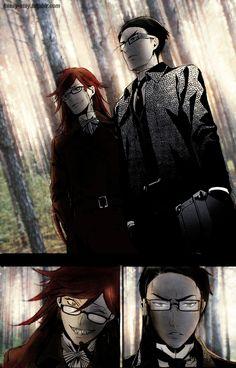 Kuroshitsuji/ Black Butler- Shinigami- Grell and William
