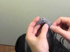 Cours de tricot 13 - tricoter un bonnet