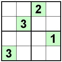 Number Logic Puzzles: 21434 - Sudoku size 4