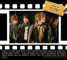 Lord of the Rings Fact. Knew this, but still fascinating!