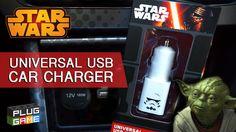 Unboxing - Carregador Universal para Carros do Star Wars (PT-BR em Portu...