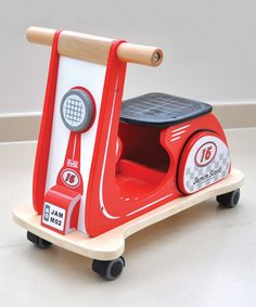 Look what I found on #zulily! Racing Red Jamm Scoot Ride-On by Indigo Jamm #zulilyfinds