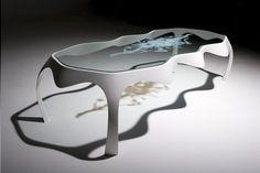 A Coffee Table As Unique As A Snowflake » Yanko Design Design Inspirations