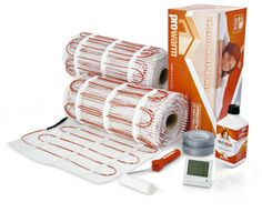 HeatThat Electric Underfloor Heating Mats for easy installtion under tiles and a variety of floor finishes. http://www.heatthat.co.uk/electric-underfloor-heating/electric-underfloor-heating-150.html