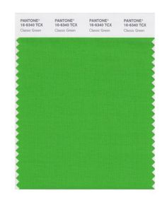 PANTONE SMART 16-6340X Color Swatch Card, Classic Green Pantone