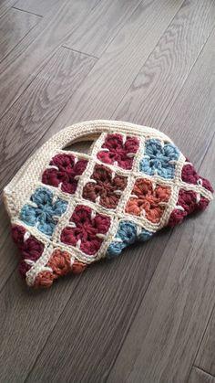 Crochet Case, Love Crochet, Beautiful Crochet, Freeform Crochet, Crochet Motif, Knit Crochet, Crochet Symbols, Crochet Stitches Patterns, Crochet Handbags
