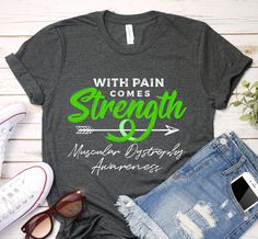 Muscular Dystrophies, Green Ribbon, Timeless Classic, Fabric Weights, Catalog, Tank Man, Strength, Feels, Unisex