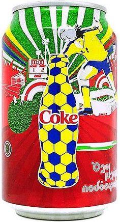 Coca Cola Cyprus 2008 330 ml Coca Cola Can, Coca Cola Bottles, Coke Cans, Pepsi, Coca Cola Marketing, Soda, Cyprus, Canning, Artwork