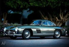 300 SL Coupe spotted upon its arrival at the 2012 Gullwing Group International Convention in La Quinta, CA this past weekend.    Photo: Royce Rumsey / Auto-Focused