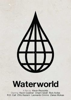 Pictogram Movie Posters : Waterworld