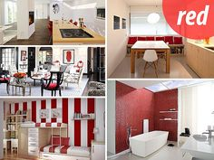 How to Decorate with Shades of Red - Our latest mention - check out the third picture