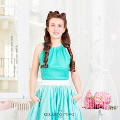 Sweet Mint dress <3 Vem conhecer este modelo em detalhe aqui