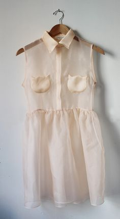 Whisker Dress in Pretty Bird Pink l It's Okay My Dear: Spring 2013 ...cat pockets!