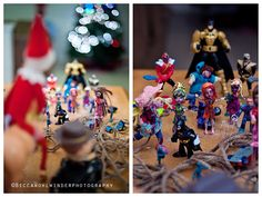 The elf on the shelp meets the walking dead...  www.facebook.com/beccawohlwinderphotography