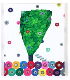 나쁜꽃밭 Bad a Flower Garden Illustrations And Posters, Symbols, Letters, Flowers, Plants, Garden, Kunst, Illustrations Posters, Garten