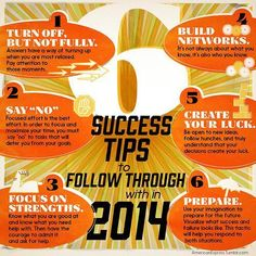 6 Success Tips...