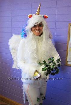 Magically Impressive Unicorn Halloween Costume .
