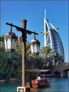 Burj Al Arab ~ Dubai, UAE استمتع بفندق برج العرب  -  دبي