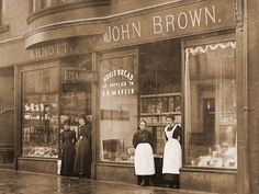 Bakery in Moss Road, Kilmacolm, Scotland c1900