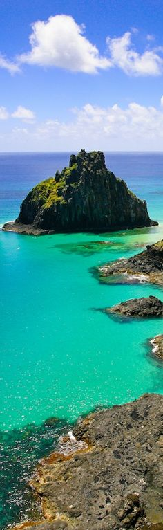 Fernando de Noronha - Brasil  I can see if sharks are approaching. Beautiful!