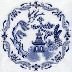 Blue Willow China This Design Is Inspired By The Patterns Great