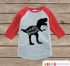 This is a cute little idea for a toddler shirt!