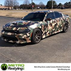 Jumbo Cumulus Woodland is a camo car wrap vinyl that is available at Metro Restyling. It is made up of colors such as brown, tan, green, and black that give it a look that's guaranteed to turn heads. Mini Coopers, Car Photos, Car Pictures, Wrapping Car, Best Camouflage, French Armed Forces, Automotive Shops, Palos Verdes Estates, Organic Structure