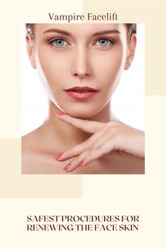 The vampire facelift is one of the safest procedures for revitalising or renewing the face skin as well as correcting the shape. This non-surgical and natural facelift. Natural Face Lift, Alternative Treatments, Face Skin, Things To Know, Shape, Fit