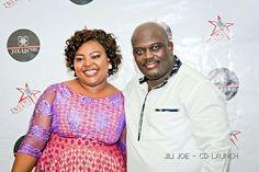 CDLAUNCH with my lovely wife Mimi Jili