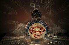 Gourd lamp.  Süperman su kabağı abajur. Www.sukabakbodrum.com