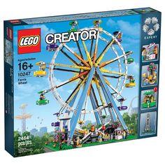 #LEGO Creator Ferris Wheel (10247) - http://www.thebrickfan.com/lego-creator-ferris-wheel-10247-official-images/