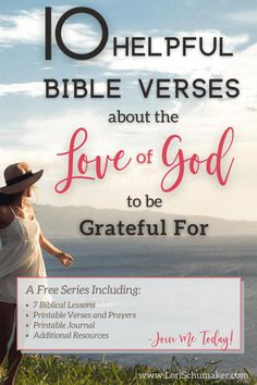 10 Helpful Bible Verses About the Love of God to Be Grateful For Christian Marriage, Christian Faith, Christian Stories, Christian Women, Best Bible Verses, Scripture Quotes, Jesus Girl, Knowing God, Finding Peace