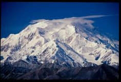 Denali (Mt McKinley) Alaska, 20,320. Highest mountain of the USA and in North America.