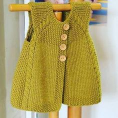 new-Baby-Jacke-Saison-baharlik – Baby Kleidung Baby Knitting Patterns, Knitting For Kids, Baby Patterns, Free Knitting, Knitting Projects, Cardigan Bebe, Knitted Baby Cardigan, Quick Knits, Vest Pattern