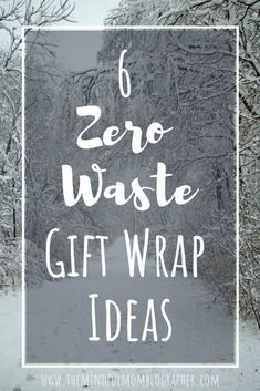 6 zero waste gift wrap ideas that are eco-friendly, contribute to a zero waste life and help reduce waste. No Waste, Reduce Waste, Green Living Tips, Sustainable Gifts, Sustainable Living, Christmas Gift Wrapping, Gifts For Friends, Eco Friendly, Recycling